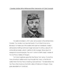 History: Native American CHIEF JOSEPH + NEZ PERCE w/17 Rea