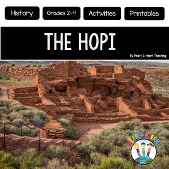 Native Americans - The Hopi  {Articles, Activities, Vocabu