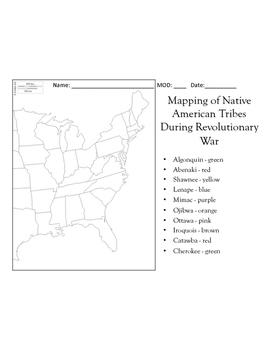 Native Americans In Rev. War