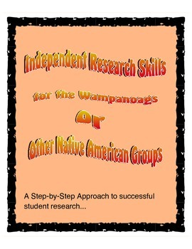Native Americans - Independent Research Skills