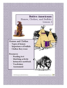 Native Americans Lesson 3 - Homes