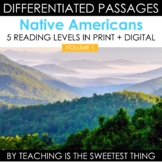 Native Americans: Differentiated Reading Passages