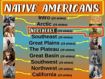 Native Americans (PART 3: NORTHEAST) visual, textual, enga
