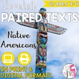 Paired Texts / Paired Passages: Native Americans Grades 4-8