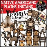 Native Americans-Plains Indians Clip Art Bundle