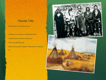 Native Americans PowerPoint, Fourth Grade