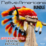 Native Americans {The BUNDLE} Differentiated Reading Passa