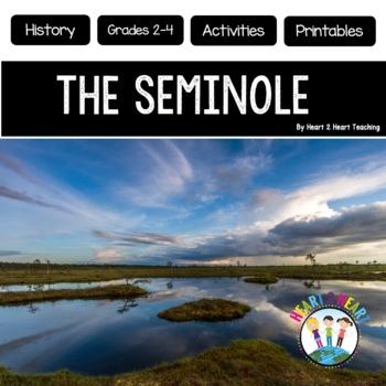 Native Americans - Seminole {Articles, Activities, Vocabul
