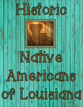 Native Americans of Louisiana Introductory Article