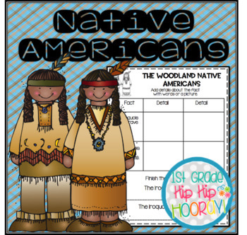 Native Americans...Informational Text, Crafts, Activities