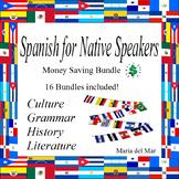 Spanish for Native Speakers/Heritage Speakers curriculum