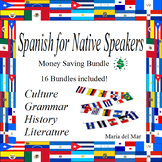 Spanish for Native Speakers/Heritage Speakers curriculum