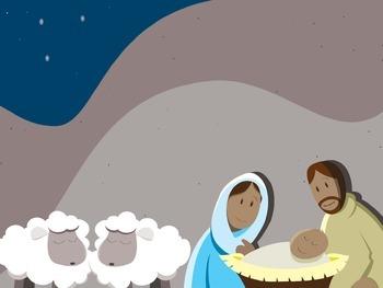 Nativity Bible Verse Activity