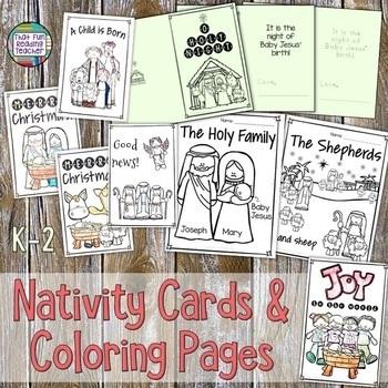Nativity Christmas Card