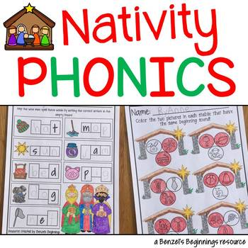 Nativity Christmas Phonics
