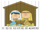 Nativity Number Order Puzzles by 5's {Dollar Deal}