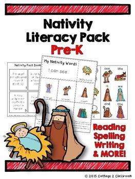Nativity Preschool Literacy Pack
