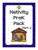 Nativity Preschool Printable Pack - Part 2