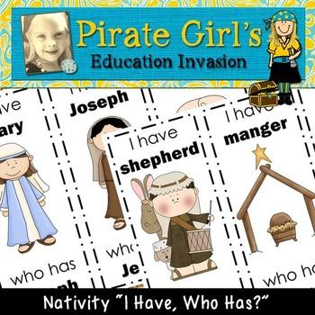 Nativity Word Game