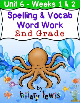 Nat'l Geographic REACH Spelling and Vocab Homework/Station