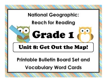 National Geographic Reach-Reading: Grade 1 - Unit 8 Bullet