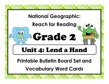National Geographic Reach-Reading: Grade 2 - Unit 4 Bullet