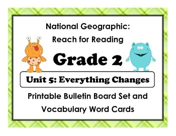 National Geographic Reach-Reading: Grade 2 - Unit 5 Bullet