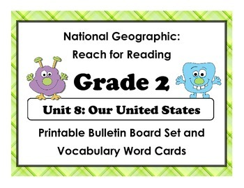 National Geographic Reach-Reading: Grade 2 - Unit 8 Bullet