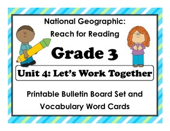 National Geographic Reach-Reading: Grade 3 - Unit 4 Bullet