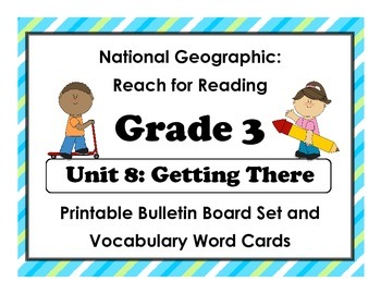 National Geographic Reach-Reading: Grade 3 - Unit 8 Bullet