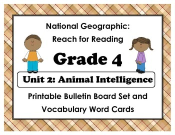 National Geographic Reach-Reading: Grade 4 - Unit 2 Bullet