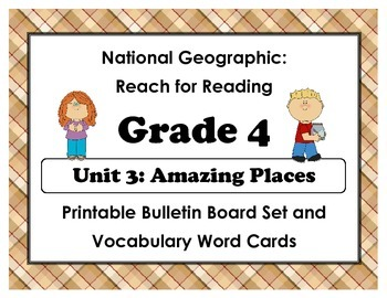 National Geographic Reach-Reading: Grade 4 - Unit 3 Bullet