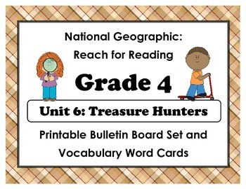 National Geographic Reach-Reading: Grade 4 - Unit 6 Bullet