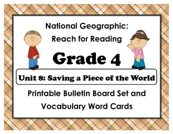 National Geographic Reach-Reading: Grade 4 - Unit 8 Bullet