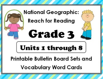 National Geographic Reach-Reading:Gr 3 Units 1-8 Bulletin