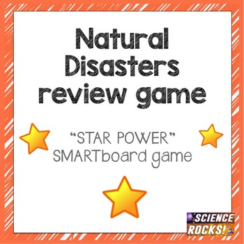 Natural Disaster SMARTboard review game