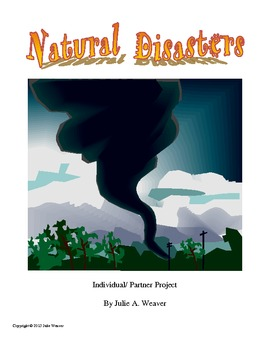 Natural Disasters Individual and Group Projects