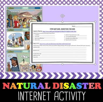 Natural Disasters Internet Game