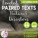 Paired Texts: Natural Disasters Grades 4-8 (Constructed Response)
