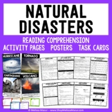 Natural Disasters Science Unit - Reading Passages and Activities!