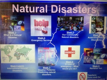 Natural Disasters- WHOLE TERM DONE FOR YOU Science unit wi