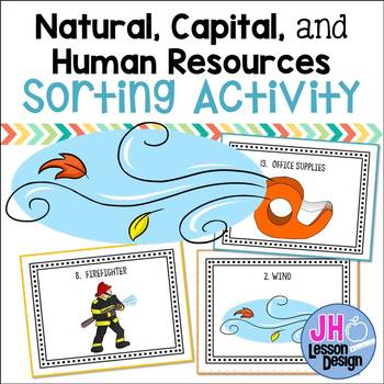 Natural Capital and Human Resources SORT