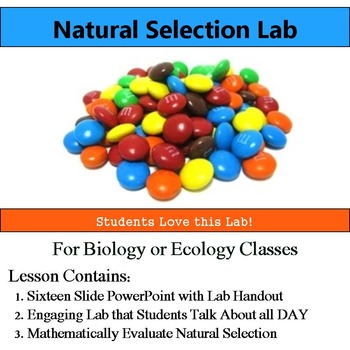 Natural Selection Lab - Use Math Evaluate Natural Selectio
