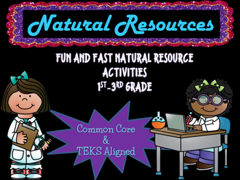 Natural and Man-Made Resources