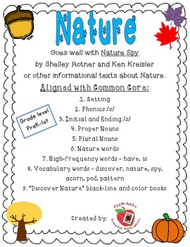 Nature Literacy Unit