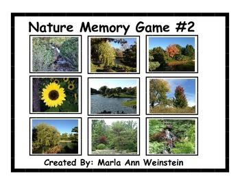Nature Memory Game #2