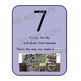 Nature Number Line:  With Poems to Teach Number Writing
