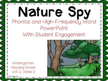 Nature Spy, Kindergarten, PowerPoint, Reading Street Unit