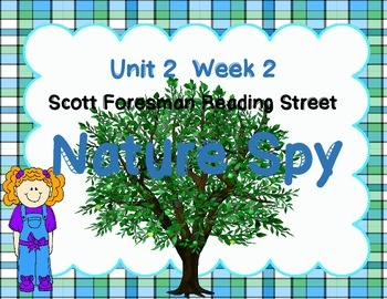 Nature Spy - Print and Go  Unit 2 Week 2 Reading Street