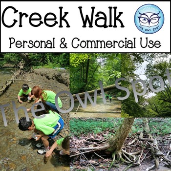Nature Walk / Creek Walk Stock Photos - personal and comme